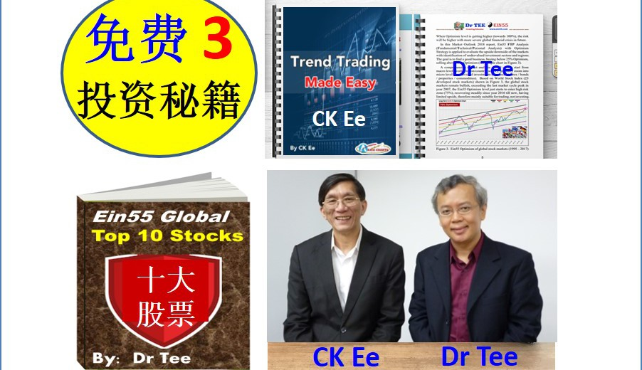 3 investment eBooks by Dr Tee & CK Ee