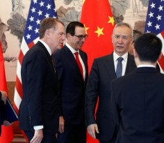 Liu He and US trade representatives