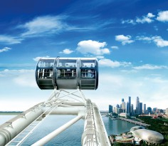 Singapore Flyer day