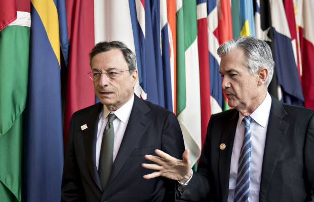 draghi powell fed-ecb